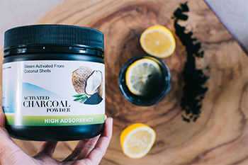 Healthy Hacks Activated Charcoal